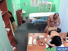 FakeHospital Sexy patient is given the cock tube porn video