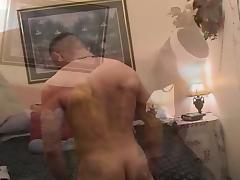 Muscled gay hunk craves for cock tube porn video