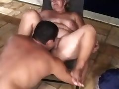 Two chubby sucks and fucks with different man tube porn video