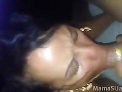 dominicana mamando guebo tube porn video