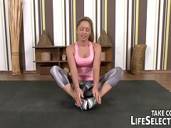 Yoga class goes sexy tube porn video
