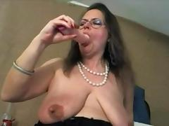 Mature with big clit and big saggy tits - negrofloripa tube porn video