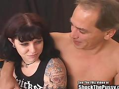 Horrid Tattoo Brunette Bondage BitchFuck tube porn video