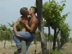 Gay guy on the sand sucking cock before pounding ass tube porn video