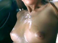 Hot POV fuck in the car with Deanna Dare tube porn video
