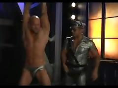 Perverted twink in kinky gay BDSM game tube porn video