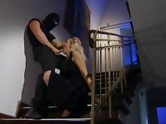 Banged by thief tube porn video