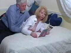 British Grandpa tube porn video