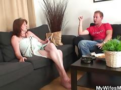 He fucks old girlfriends mother tube porn video