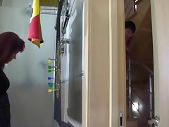 Russian BBW mature fuck at bathroom tube porn video