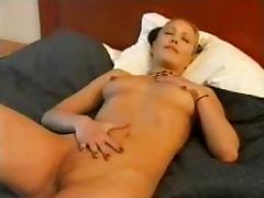 Norwegian amateur chick masturbating tube porn video
