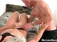 Hairy Granny Melinda Banged tube porn video