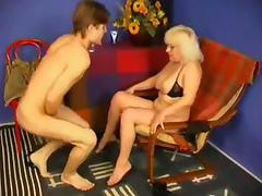 Russian Mom Catches not Son Masturbating WF tube porn video