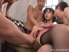 Tsukasa Aoi gets into some wild sexual insertions tube porn video