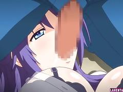 Hentai babe gets licked and sucks hard cock tube porn video