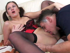 HornyOldGents Scene: Jaclyn and Frank tube porn video