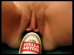 Bierflasche in der fotze tube porn video