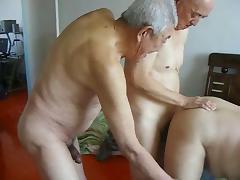 2 grandpas fuck grandpa tube porn video