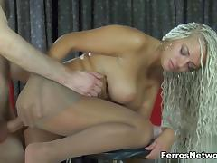 Anal-Pantyhose Clip: Ophelia A and Peter B tube porn video