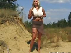 Stunning Solo Model In Miniskirt Displaying Her Natural Tits tube porn video