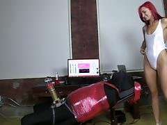 FemDom Milking tube porn video