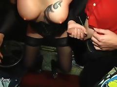 Vienna-Twat - Celine Arschfick-Party mit 5 Schwanzen tube porn video