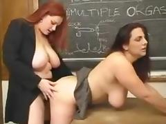 Redhead BBW Teaches The Greatest Lesson Ever tube porn video