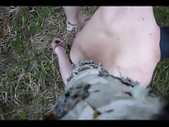 Outdoor selfbondage 2 tube porn video