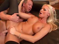 Diana Doll receives a hot creampie after awesome fuck scene tube porn video