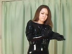 Japanese Latex Catsuit 29 tube porn video