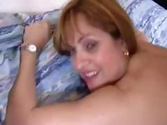 French mature in nylons gets her holes stuffed tube porn video