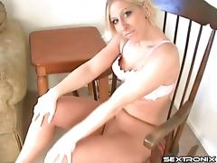 Sexy pornstar with nipple piercings loves sucking hard boners tube porn video