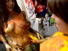 DareDorm Movie Scene: Art pleasure tube porn video