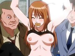 Gagged hentai babe tube porn video