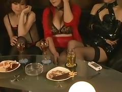 Mature Japanese Mistresses Strap-On Fuck And Dominate A Guy tube porn video