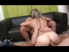 Mature MMF Threesome tube porn video
