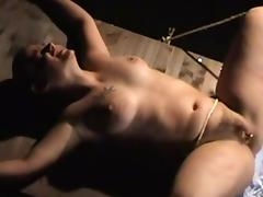 Mona Gets Breast Caning and Clit Pierced tube porn video