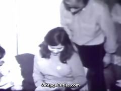 Young Girl Swings with two Men (1960s Vintage) tube porn video