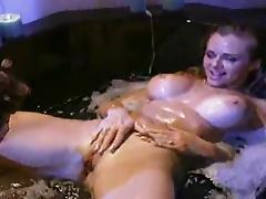 Lesbian sex in the bath DMvideos tube porn video