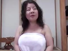 Japanese unattractive BBW Mature Creampie Junko fuse 46years tube porn video