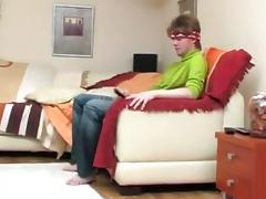Teen guy bonks horny crossdresser tube porn video