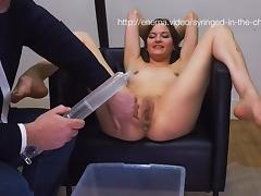 Syringe Enema In The Chair, Part 1 tube porn video