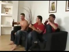 Three gay hunks got bored, so they had sex tube porn video