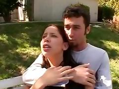 james deen goes medieval on a cutie for stealing a lemon tube porn video