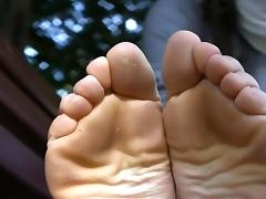 French barefeet hippy girl tube porn video