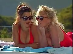 KYLIE IRELAND in Babewatch tube porn video
