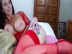 Breasty mother i'd like to fuck in nylons screwed by a giant lengthy weenie tube porn video