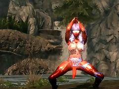 Skyrim sexy dance Gentleman Waveya HDT(futanari) tube porn video