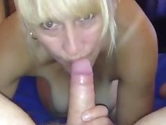 Married cheating wife swallowing cock tube porn video