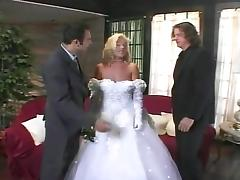 Bride fucks groom and best friend tube porn video